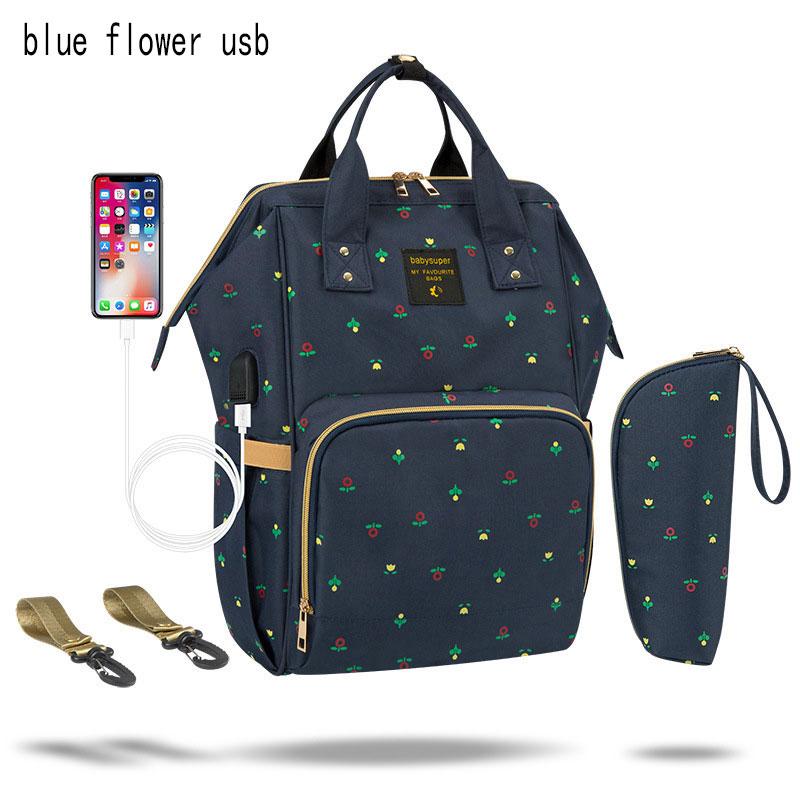 Blue Flower USB