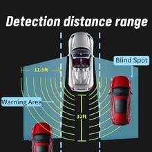 Sistema de Detección de Radar ciego para coche, dispositivo de asistencia con Sensor ultrasónico, herramienta de inversión de cambio de carril, Radar de estacionamiento