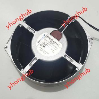 ebmpapst W2S130-AA03-77 AC 230V 45W 172x150x55mm 2-wire Server Cooling  Fan ac fan s254ap 11 2 3 110v sinwan 3 wire 25489 cooling 620470cfm 19001450 rpm