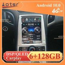 Android 10 6 + 128G Auto Multimedia Player Stereo GPS NAVI für Hyundai Rohens Genesis Coupe 2008  2015 kopf Einheit auto band recorder