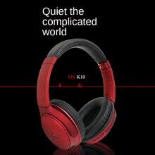 Casque d'écoute Bluetooth K10 stéréo sans fil, oreillettes de sport pliantes, pour course à pied, à faible accent