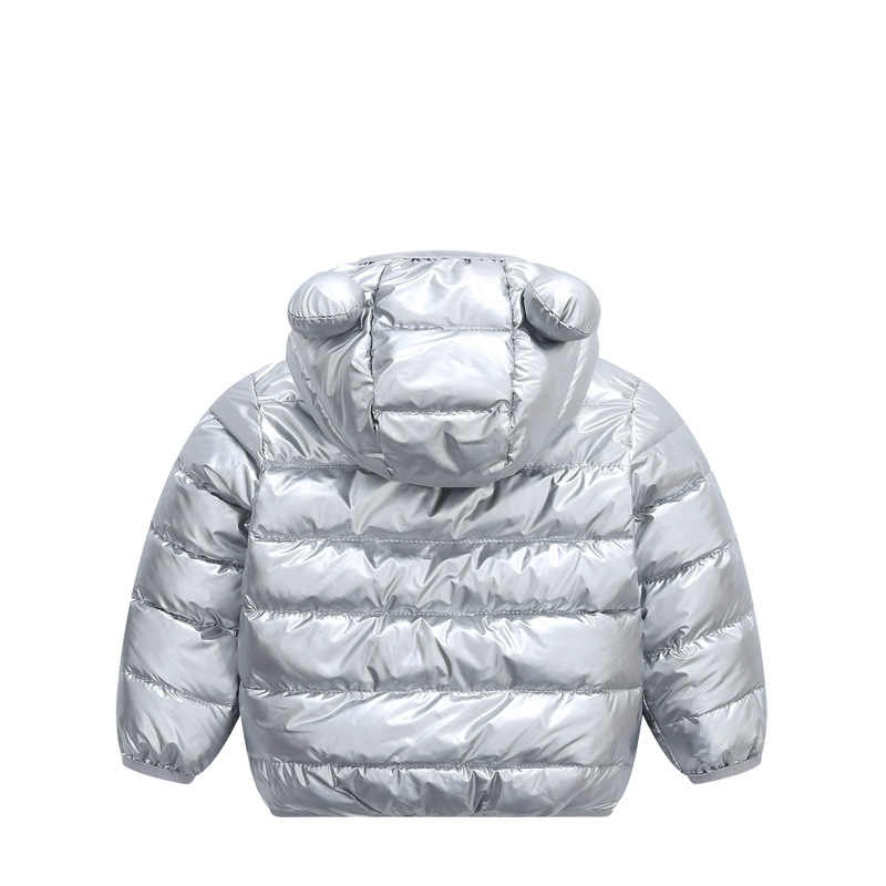 Niños ropa de algodón con capucha chaqueta con capucha + Pantalones + chaleco 3 uds conjunto niñas abrigo bebé niños de prendas de vestir traje de nieve chaqueta de invierno de los niños