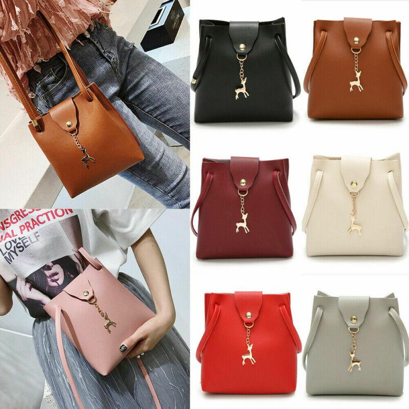 2020 HOT Leather Buckle Flap Crossbody Bag Womem OL Simple Style Envelope Bag Cowhide Women's Sholder Bag Vintage Retro Purs