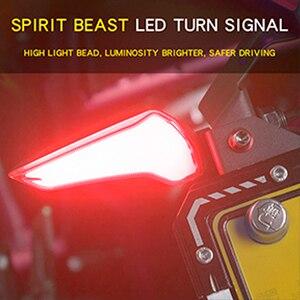 Image 2 - Espírito besta luz led motocicleta, pisca pisca, indicadores de seta para kawasaki z650 triumph street triplo honda cbr 250r cb1000r