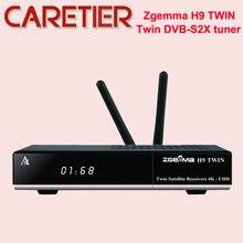 חדש 2 * WiFi + 2 * Ci בתוספת דיגיטלי ZGEMMA H9TWIN 4K UHD טלוויזיה תיבת לינוקס OS Enigma2 h.265/HEVC DVB S2X + S2X מקלטים