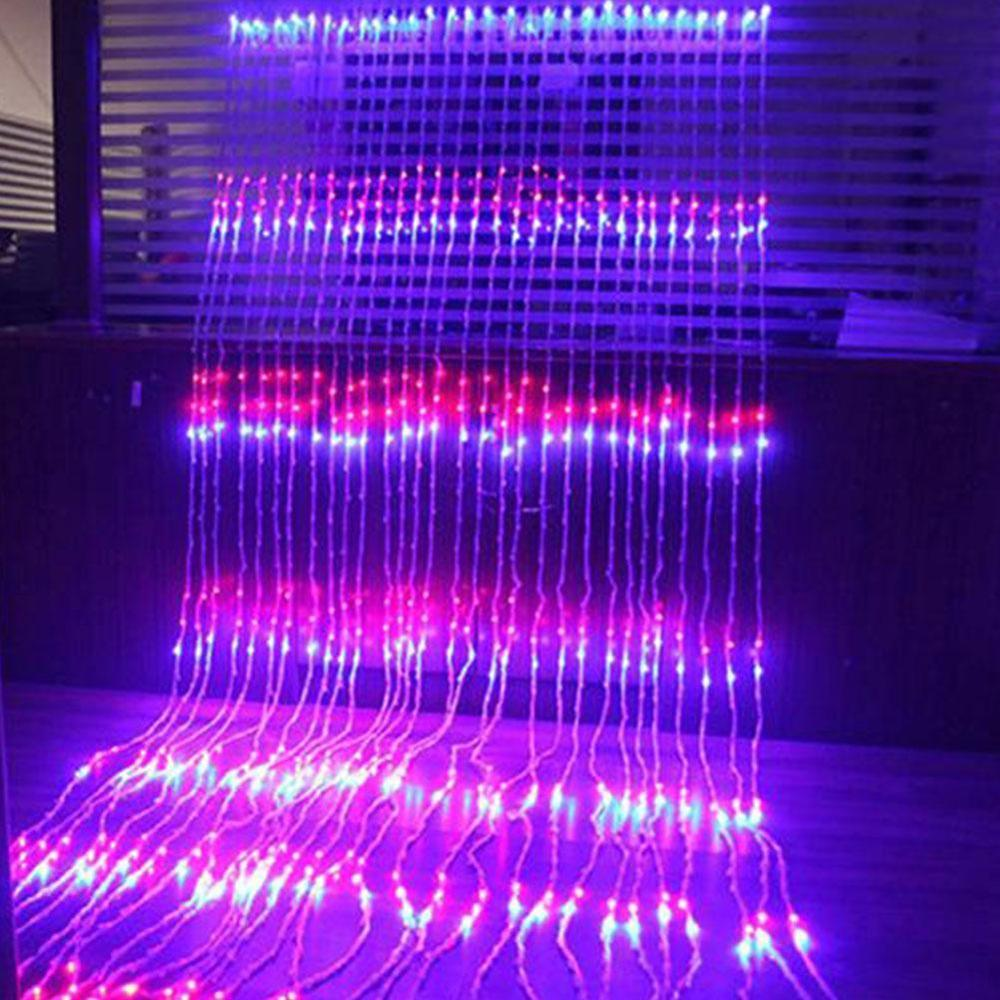 Christmas LED Waterfall Meteor Shower Rain String Light 3X3M/6X3M LED Holiday Decorative Lights For Home Bedroom Decorations