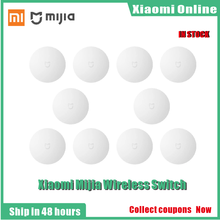 1 10pcs Xiaomi Smart Wireless Schalter für xiaomi Smart Home Haus Control Center Intelligente Multifunktions Weiß Schalter in box