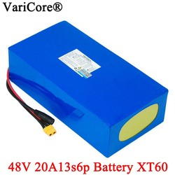 VariCore 48V 20ah 13s6p Lithium Battery Pack 48V 20AH 2000W electric bicycle battery Built in 50A BMS XT60 plug