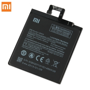 Image 4 - Xiao Mi Original Replacement Battery BN20 For Xiaomi Mi 5C M5C Authentic Phone Battery 2860mAh