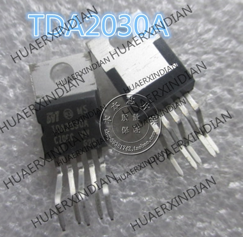 2PCS/LOT New TDA2030A <font><b>TDA2030</b></font> <font><b>2</b></font> high quality in stock image