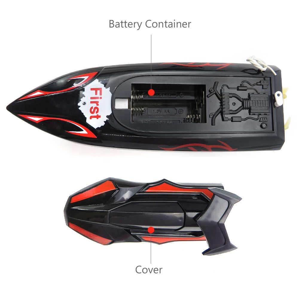 Flytec HQ2011-15C 10 km/h 27Mhz Mini Control infrarrojo barco RC barco Super velocidad RC barco Speedboat eléctrico RC Juguetes