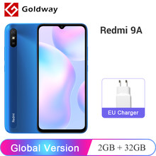 Versión Global Xiaomi Redmi 9A 9 A 2GB RAM 32GB ROM teléfono móvil MTK Helio G25 Octa Core 13MP AI cámara trasera 6,53