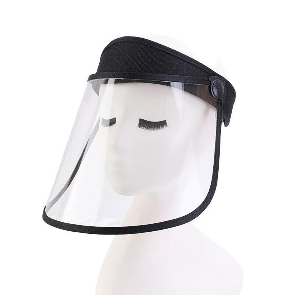 Transparent Full Face Shield Mask Clear Flip Up Visor Protection Safety Work Guard For Droplet Clear Face Mask Protect Eye Mask