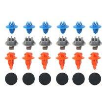 60 pçs/lote misturado painel de guarnição da porta dianteira rebite clipes prendedores para toyota prado 120 4 runner/fj cruiser highlander rav4