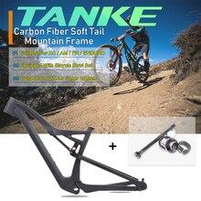 29/27.5 אינץ AM/XC/FR/אנדורו צלב נסיעות הרי אופניים מסגרת עבור BB92 148mm * 12mm MTB פחמן Boost Twinloc מסגרות אופני מט
