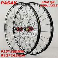 mountain bike bicycle wheel 26 27.5inch Milling trilateral front 2 rear 4 bearing japan hub super smooth wheel wheelset CNC Rim