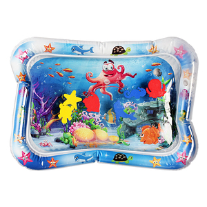Image 5 - Baby Inflatable Water Play Mat Infant Summer Beach Water Mat Toddler Fun Activity Play Toys for Sensory Stimulation Motor Skills