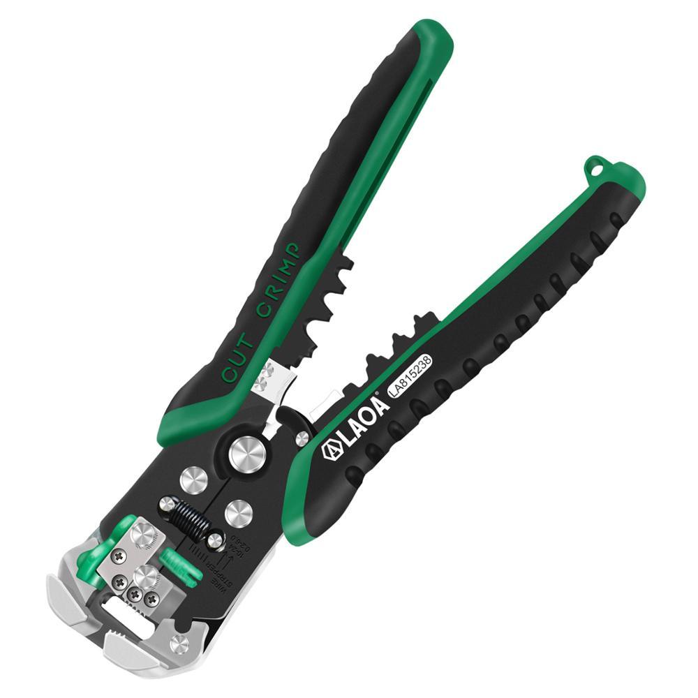 LAOA Automaatsed traadist eemaldusriistad Taiwanis valmistatud professionaalsed elektrikaabli eemaldamise tööriistad elektrikute krimpsutamiseks