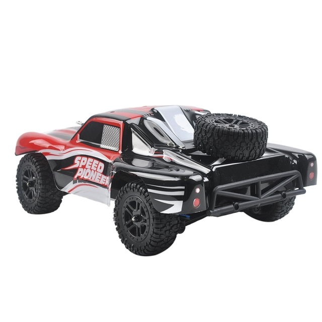 9301X RC Car 1/18 4WD 2.4G 50KM/H High Speed RC Car Remote Control Truck Toys Brushless Desert Crawler Car Vehicle Red 4