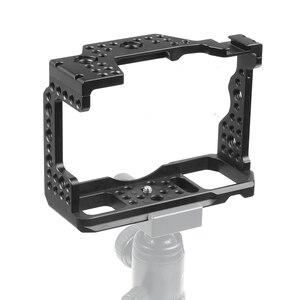 Image 4 - アルミ QR ハンドヘルドカメラケージソニー A7RIII/A7III/A7MIII 一眼レフマウント三脚ブラケット写真撮影延長キット