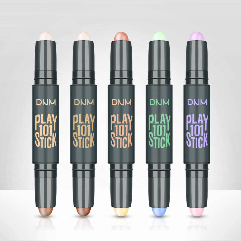 Resaltador de ojos, Corrector de cara, barra de contorno, bronceadores, lápiz verde, cosmético, maquillaje 3D, Corrector, barra de contorno, base