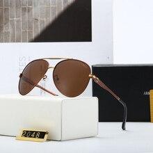 New Top Brand Men Pilot Sunglasses Polarized Driving Retro G