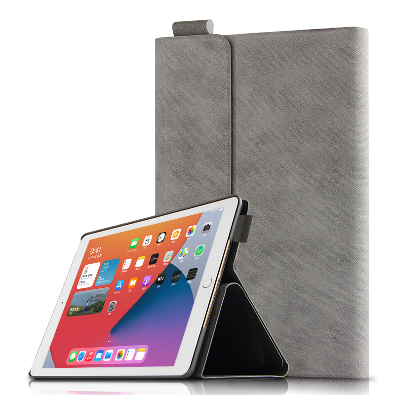 gray Blue Smart Case For Apple iPad 10 2 2020 A2270 A2428 Tablet Protective Cover PU Magnetic For