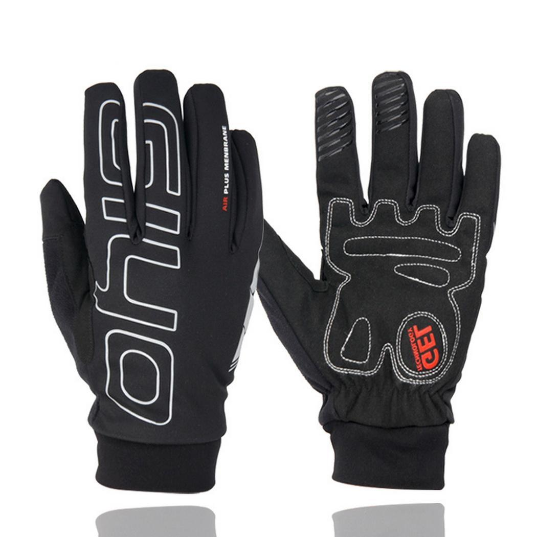 Outdoor Non-slip Windproof Warm Touchscreen Full-finger Cycling Gloves