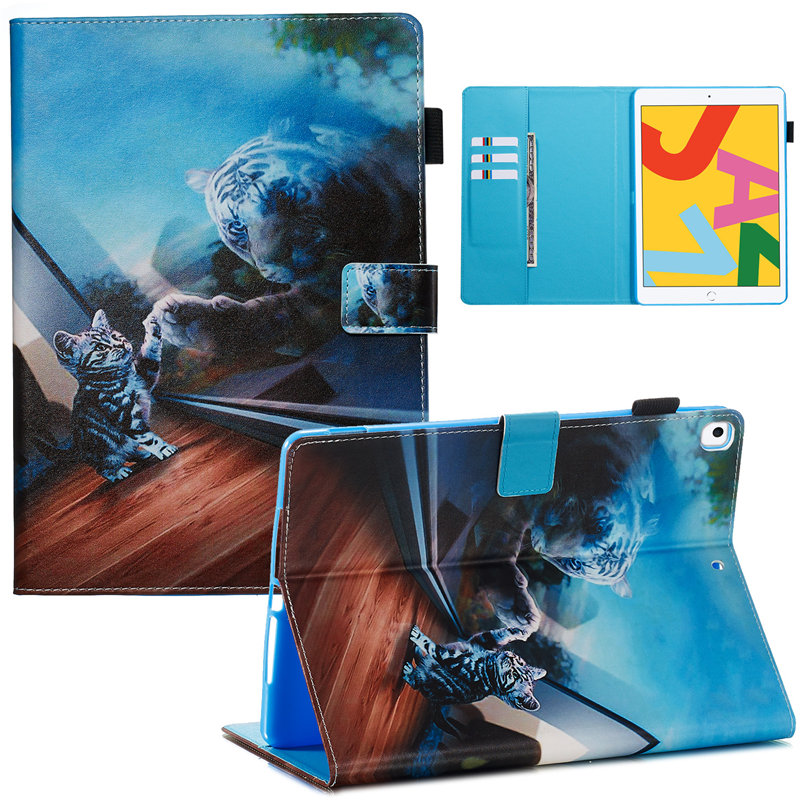 22 Camel For iPad 10 2 2019 Smart Case for Apple iPad 7th Generation A2200 A2232 Cover Funda