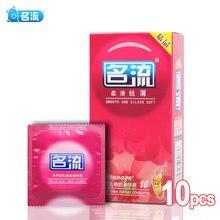 PERSONAGE 10 Uds Silken preservativos suaves clásico de alta calidad pene manga Ultra delgado dispositivo anticonceptivo productos íntimos para hombres
