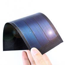 柔軟なアモルファス薄膜ソーラーパネルメーカー小型ソーラー電力細胞太陽電池太陽充電 0.75 ワット/4.5v/190ma