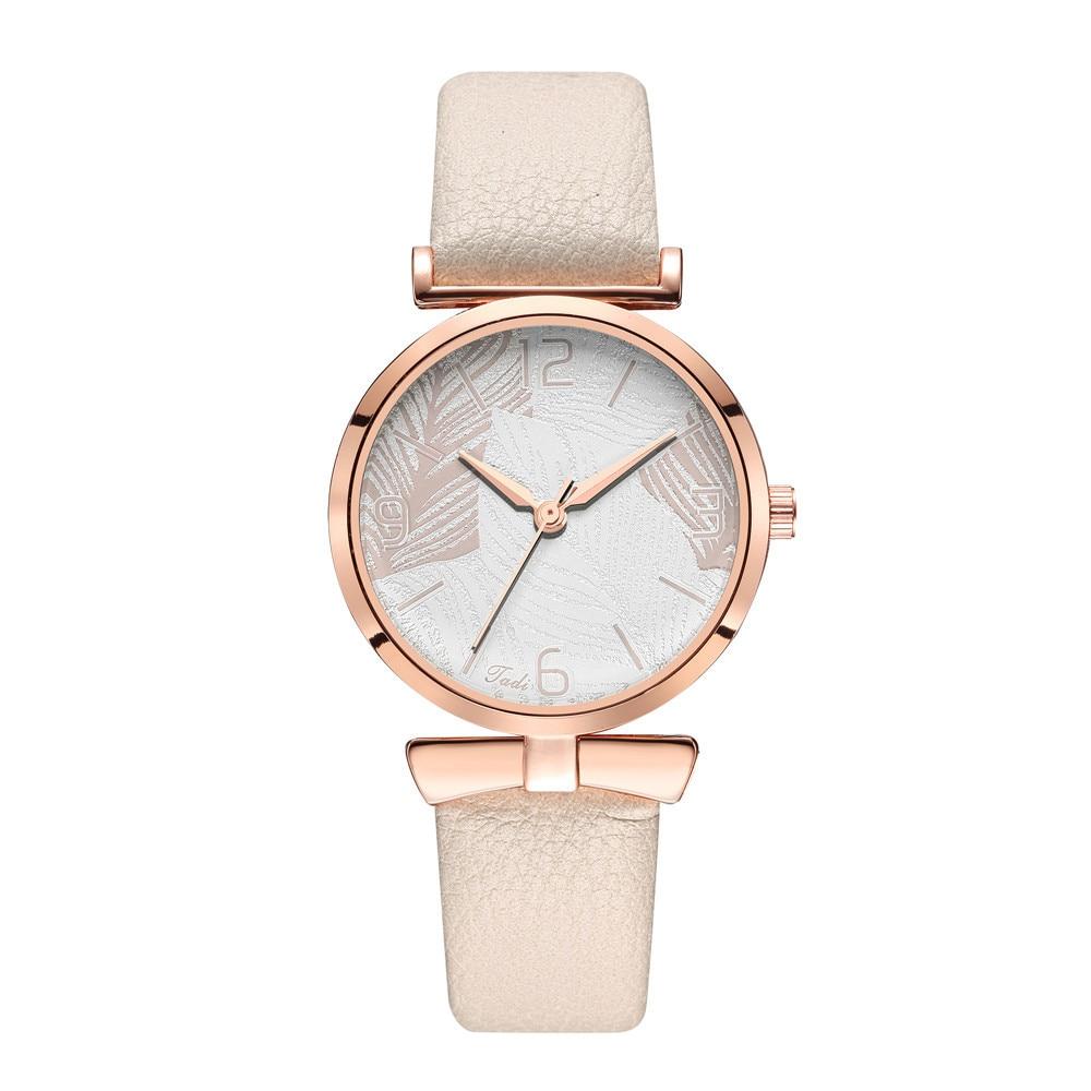 2020 Ladies Watch Women Clock Quartz Casual Wrist Watches Women Watch New Fashion Leather Strap Elegant Relogio Feminino Relojes