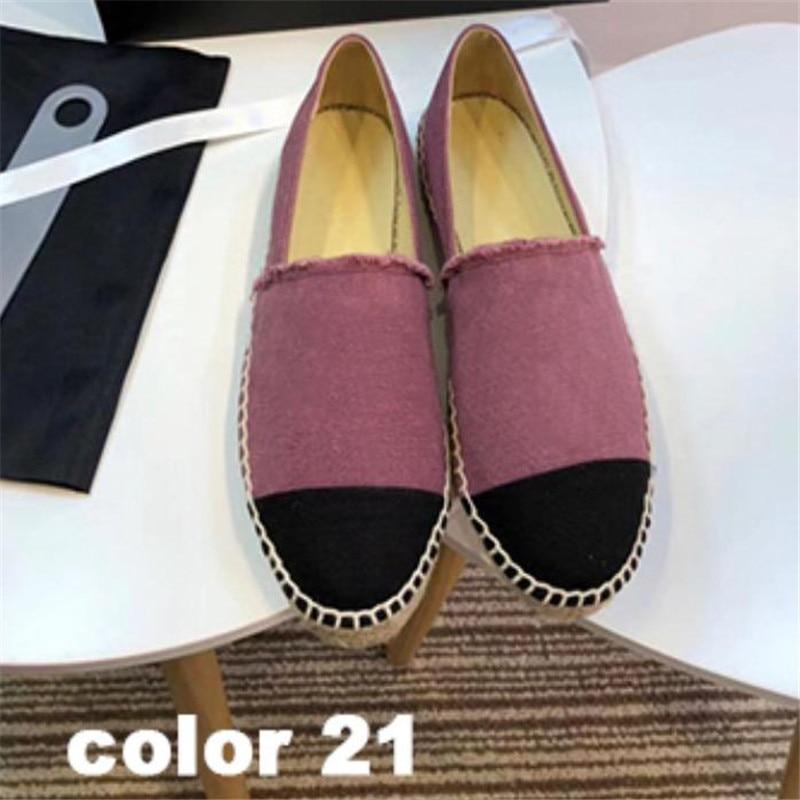 Mocassins boca rasa deslizamento em apartamentos de tricô macio para mulheres moda confortável couro genuíno sapato feminino Size35 42 - 3