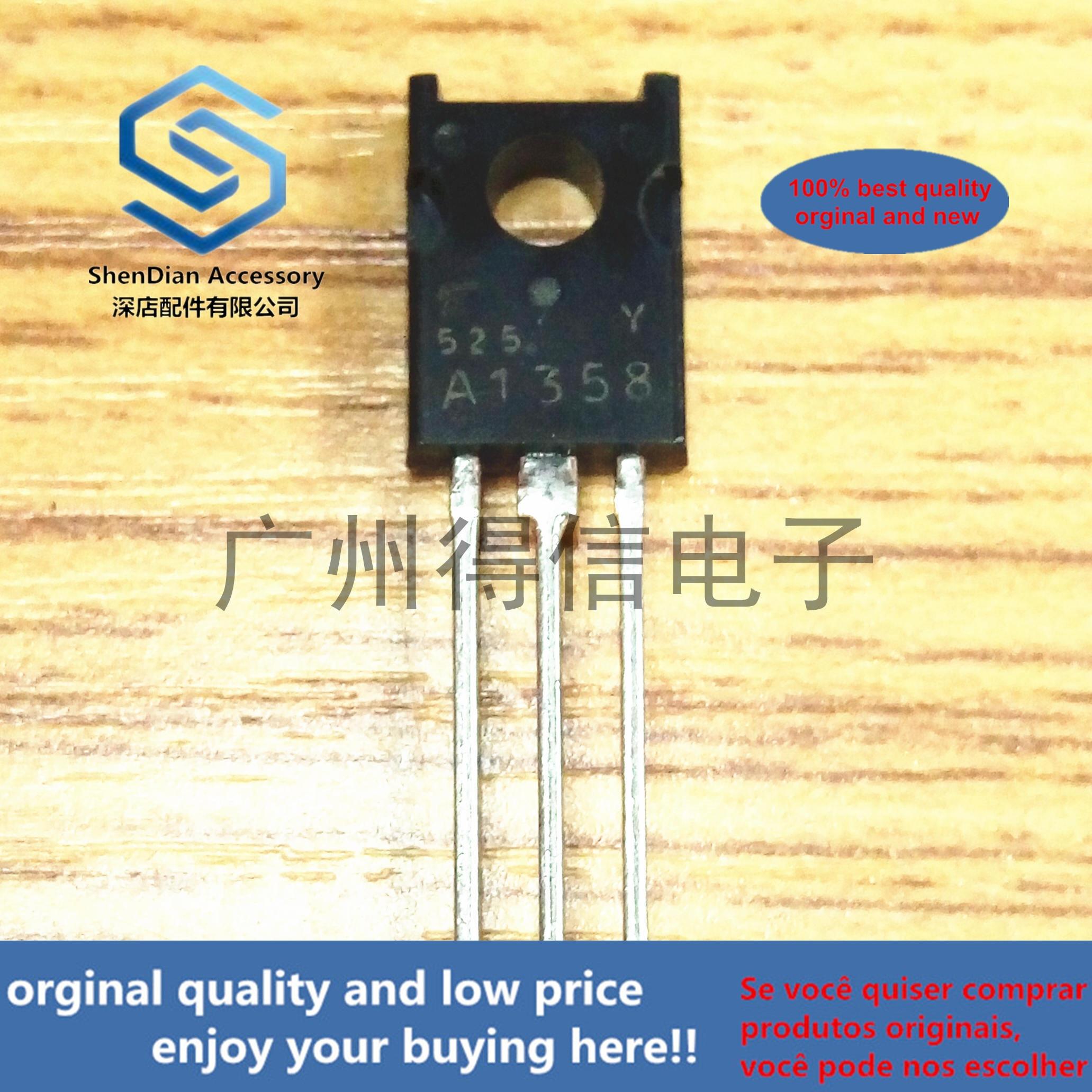 10pcs 100% New And Orginal 2SA1358Y A1358 TO-126  In Stock