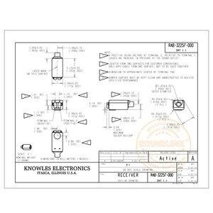 Image 2 - RAB 32257 Knowles BA sürücü IEM dengeli armatür sürücü alıcısı hoparlör tam kapsamlı