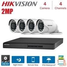 Камера видеонаблюдения hd hikvision 2 МП 1080p 4 канала