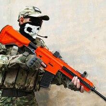Pistola de agua eléctrica para niños, juguete de pistola de agua M416, Rifle de francotirador, submáquina, Bola de Gel suave, pistolas de juguete, regalos de navidad