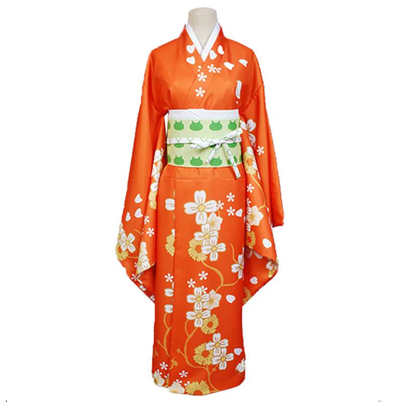 Danganronpa Cosplay - Hiyoko Saionji Kimono Costume