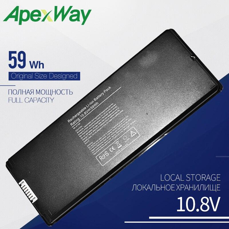 10 8V 59Wh Laptop battery for font b APPLE b font A1185 ASMB016 MA566 MA566FE A
