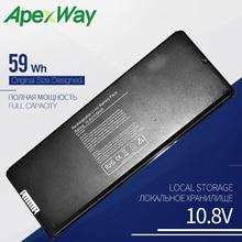 10.8V 59Wh Laptop battery for APPLE A1185 ASMB016 MA566 MA566FE/A MA566G/A MA566J/A mid-2009, for MacBook 5.2 A1181 MA472