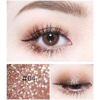 14 Color Shine Pearlescent Glitter Silver Eye Shadow Highlighter Makeup Lasting Monochrome Brighten Liquid Eyeshadow Cream TSLM1 5