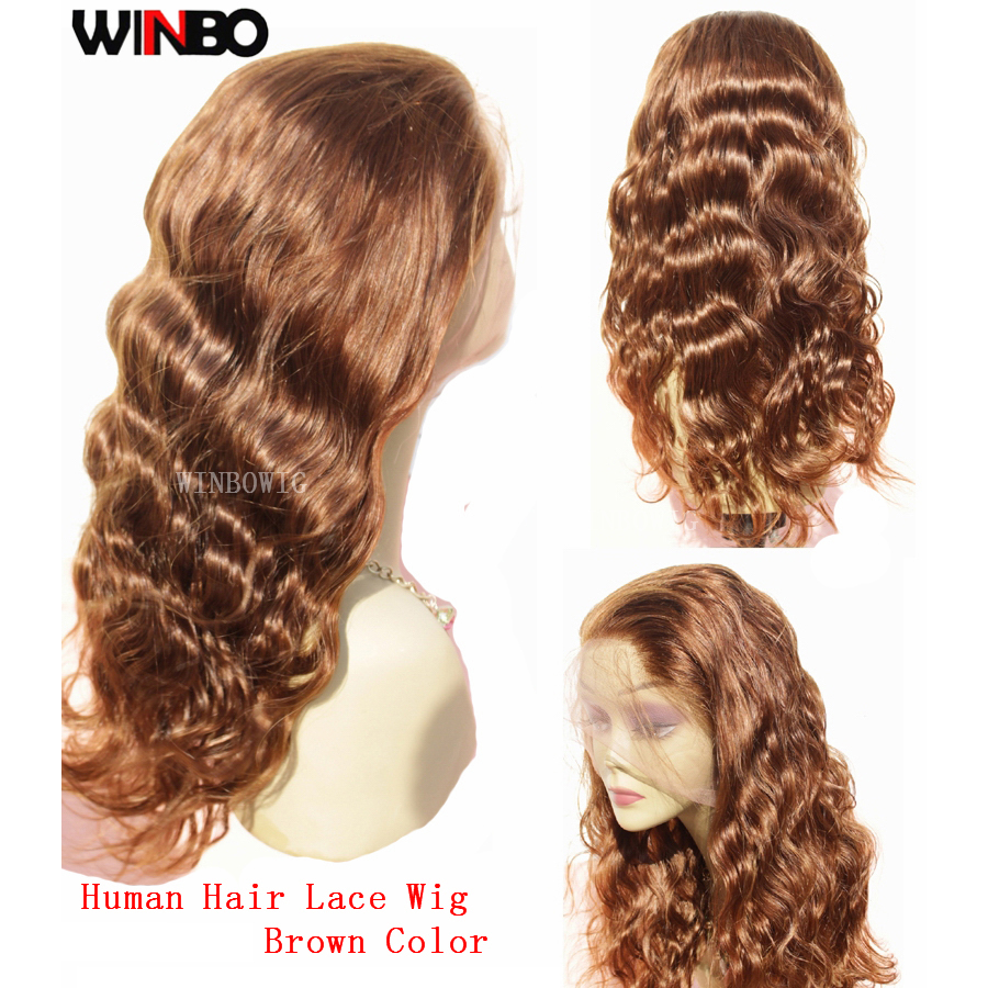 WINBO Malaysian Hair Body Wave 13x6 Lace Frontal Wigs Remy Hair Black Women Wigs 13x4 Lace Front Wigs Blond Brown Color