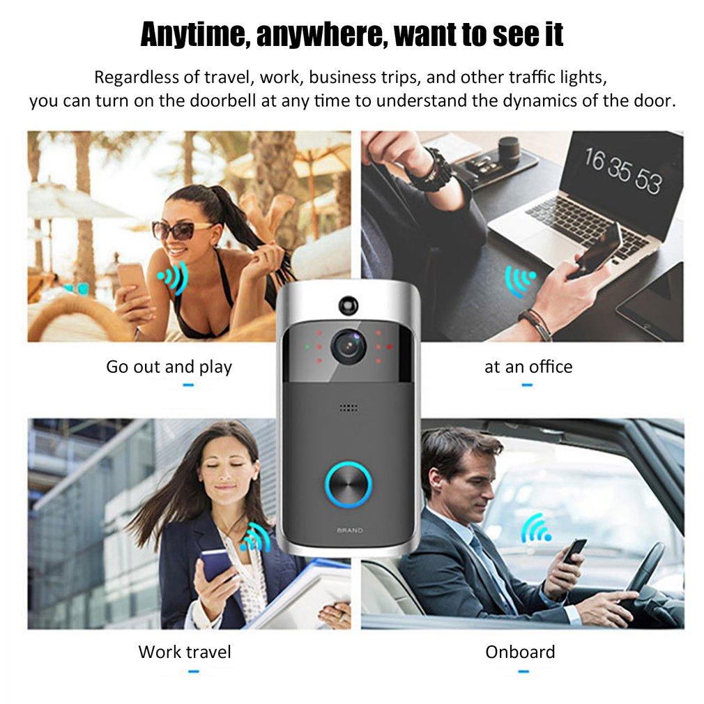 Person - RingSmart™ Wireless Video Doorbell Best Ring Doorbell Alternative