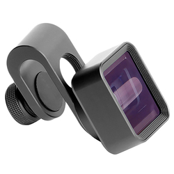 ABKT-Pholes Universal Anamorphic Lens For Mobile Phone 1.33X Wide Screen Video Widescreen Slr Movie Mobile Phone Lens
