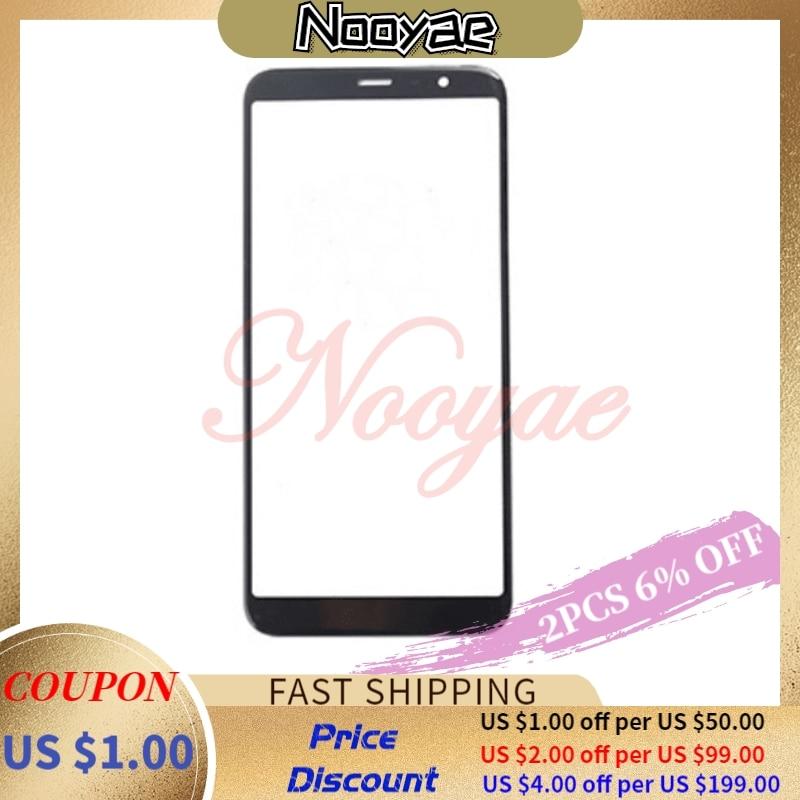 Black/White Front Touch LCD Panel Lens For Meizu M6T Meilan 6T M811H M811Q M6s Digitizer Outer Glass Sensor Screen Lens