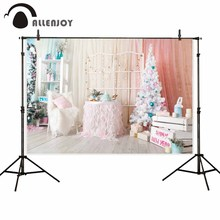 Allenjoy photophone backgrounds Christmas tree new year princess wood room decor backdrops photographic photobooth photocall allenjoy photographic background european royal family living room backdrops princess boy studio fabric 7x5ft
