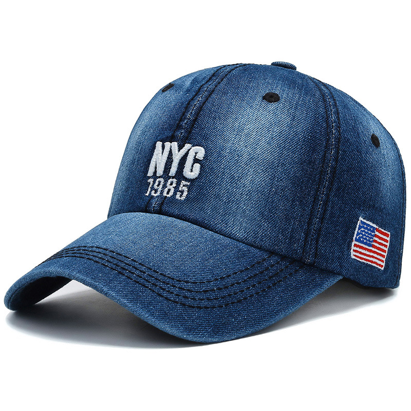 2020 New Denim Washed Baseball Cap Men And Women Casual Fashion Sports Cap Personality Trend Cap Summer Outdoor Sun Hat