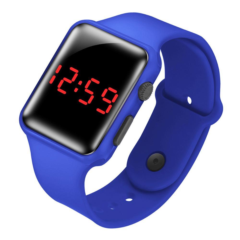 LED Watch Zegarek Relojes Wristwatch Relogio Feminino Horloges Reloj Digital Electronic Boys Girls Kids Watches Student Orologi