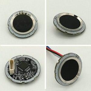 Image 5 - R502 Rosso Bule LED Rotonda A Semiconduttore Modulo di Impronte Digitali/Sensore/Sensore di Scanner