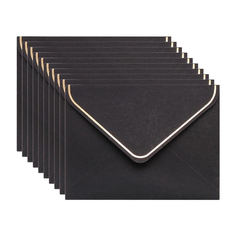 10 шт./компл. простые креативные поздравительные открытки с эмблемой благословения, подходящий конверт, поздравительная открытка на день ро...